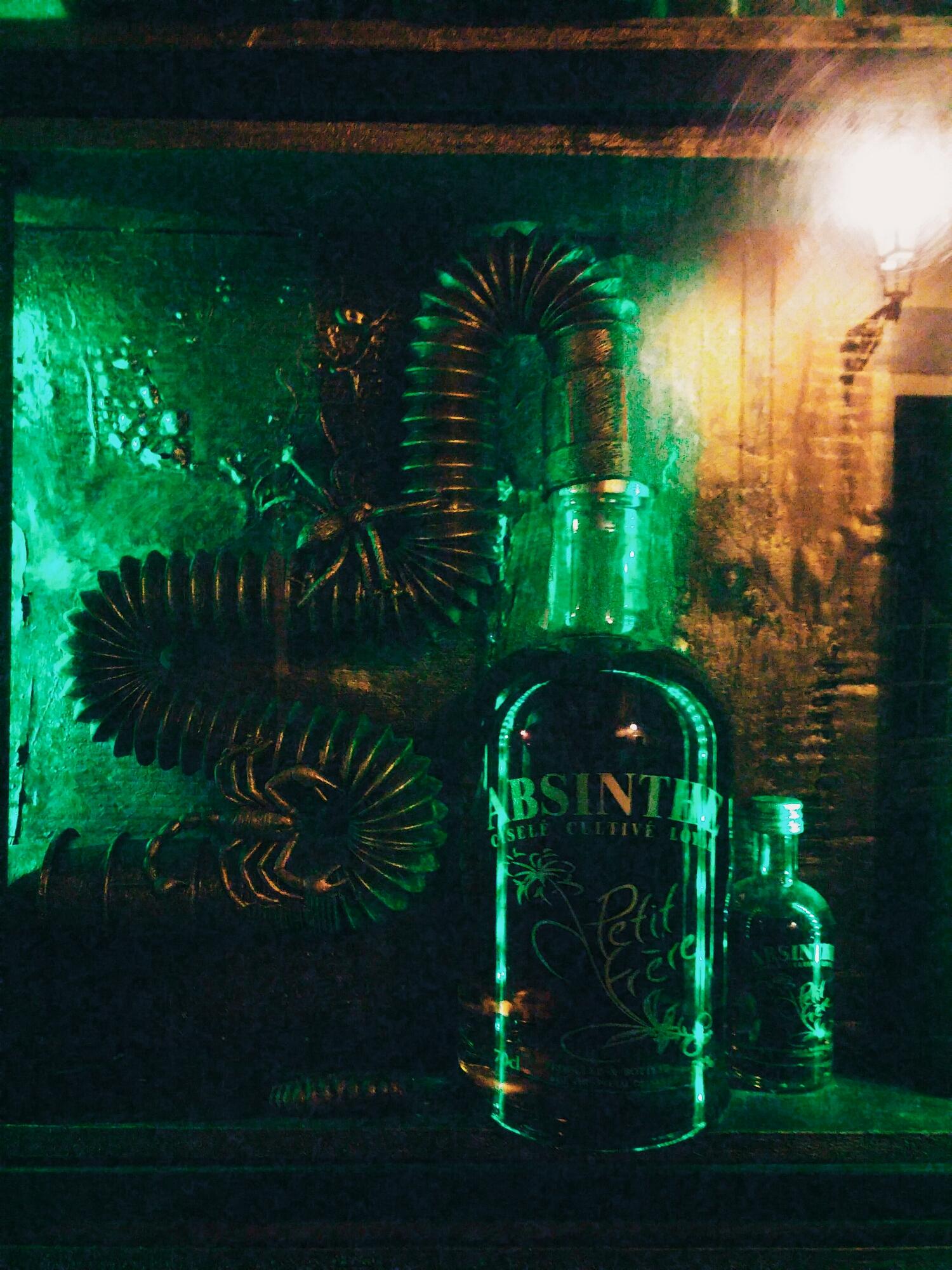 {Absinthe bar.}