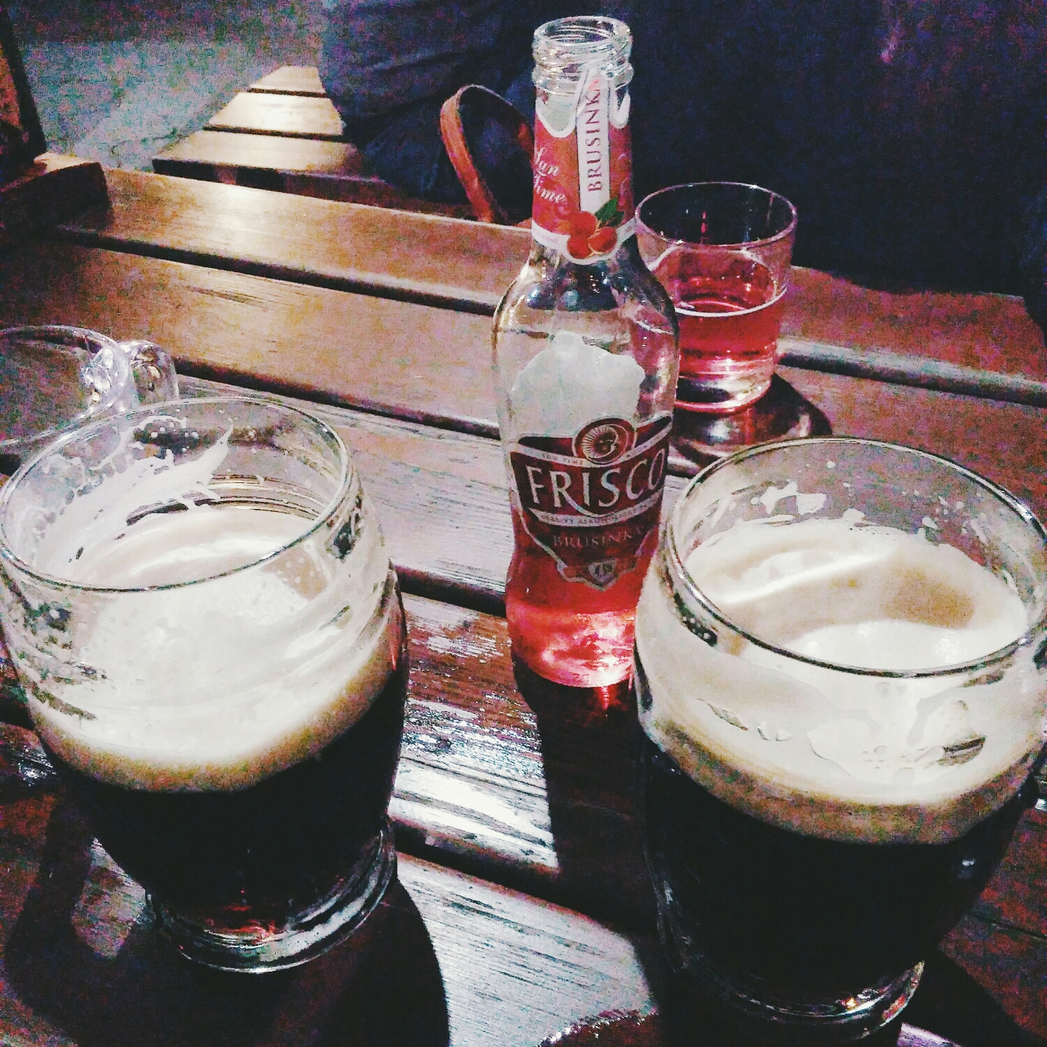 {Dark beers are my best friend after this trip.}