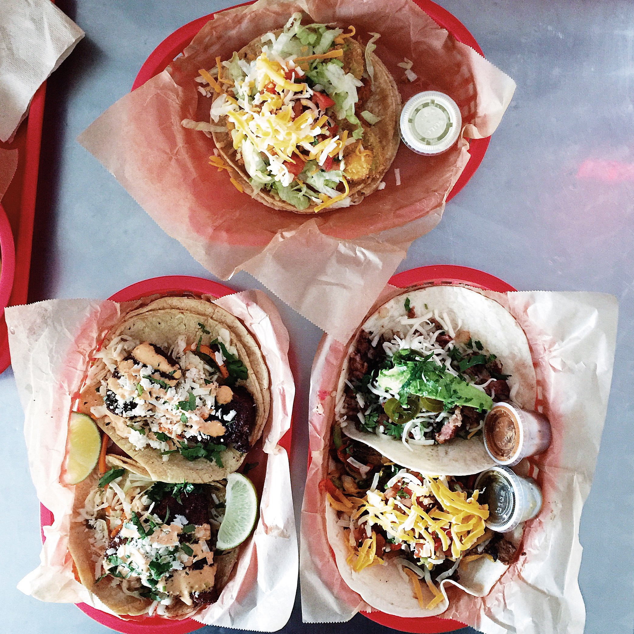 {#fromabove tacos, yum.}