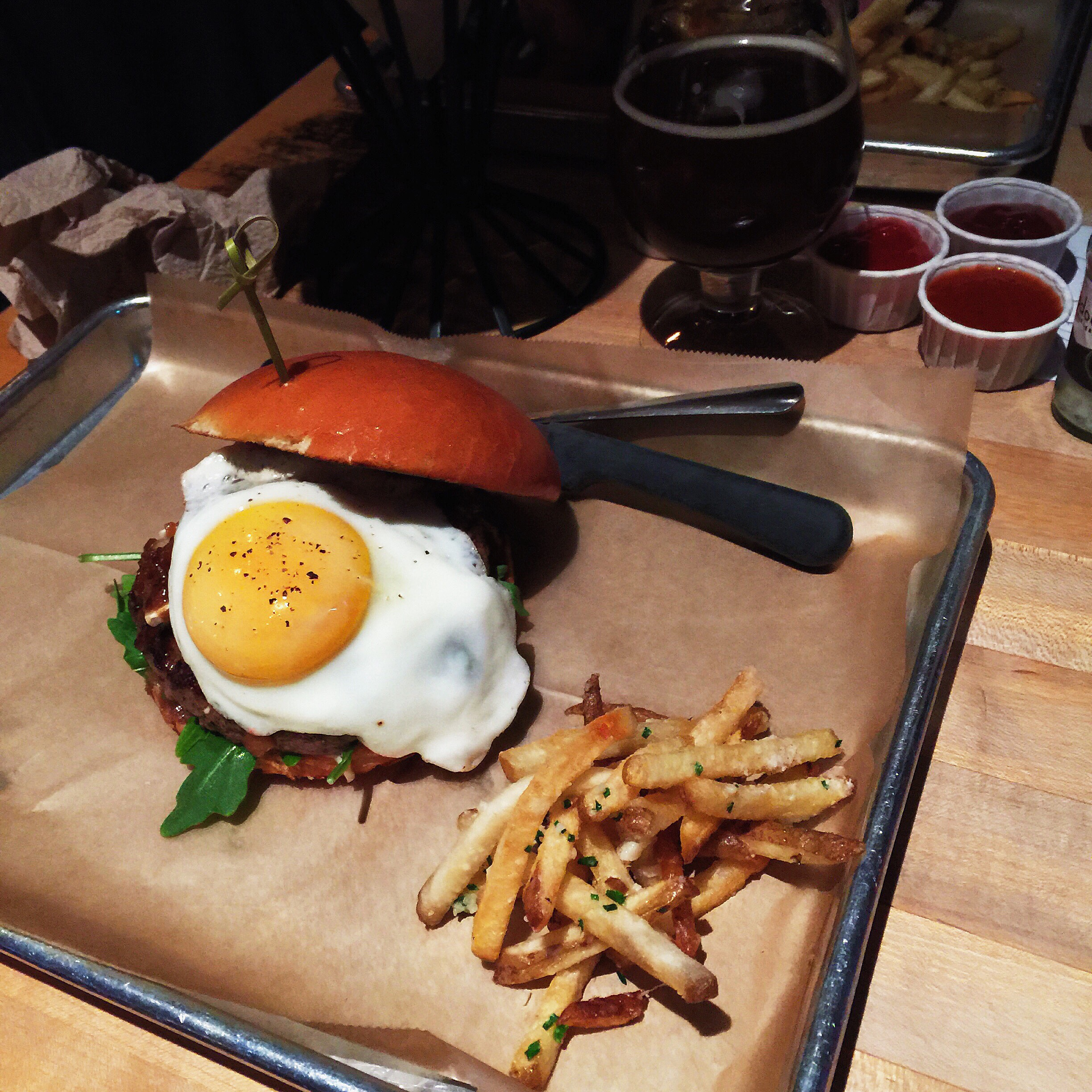 {hopdoddy's! my primetime with an added egg.}