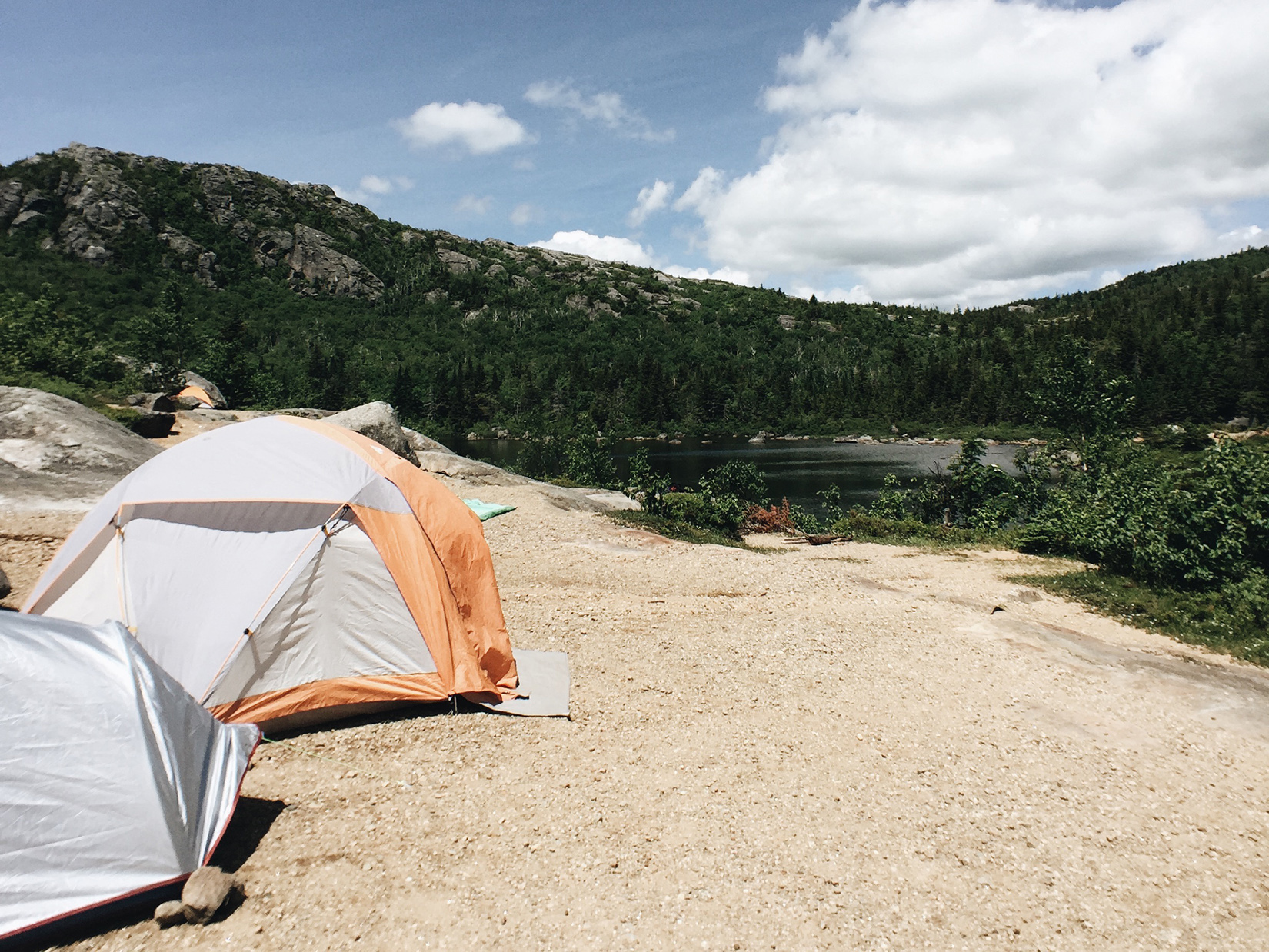 {Camping at the Tumbledown Pond: added to bucketlist.}
