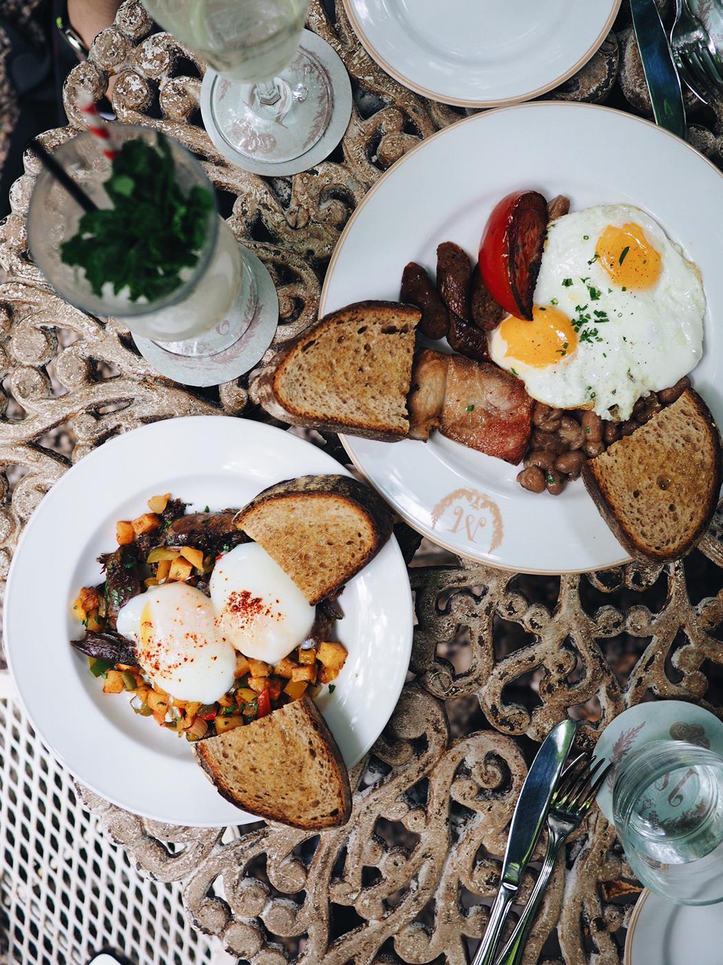 {Duck confit hash // English breakfast}