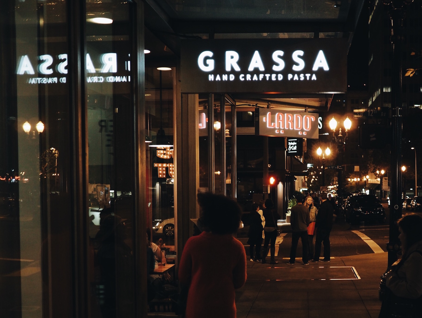 {Grassa! And its sister restaurant, Lardo. More on that below!}