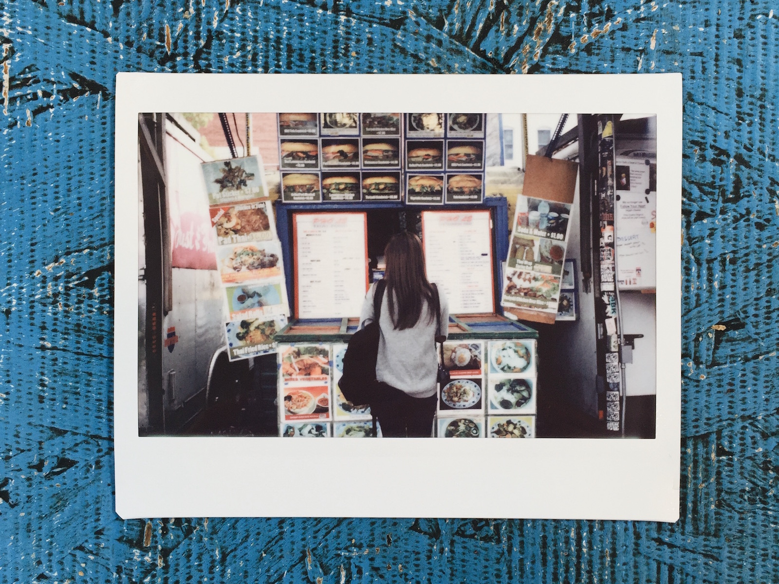 {Instax portrait courtesy of  Christina .}