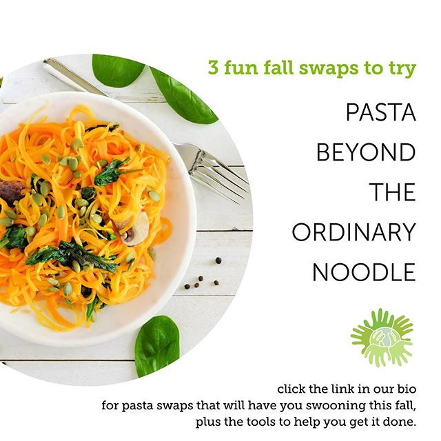 It's not exactly sweater weather yet in the Big 🍎, but we are definitely starting to crave some more comfort foods and that means PASTA! For healthier, nutrient-packed alternatives, check out our new blog post...link in bio 🍝🍝🍝 . . . #comfortfood #noodles #zoodles #healthyeating #fallfavorites #glutenfree #dairyfree #healthykids #schooldining #betterforyou #nutrition #eatwell