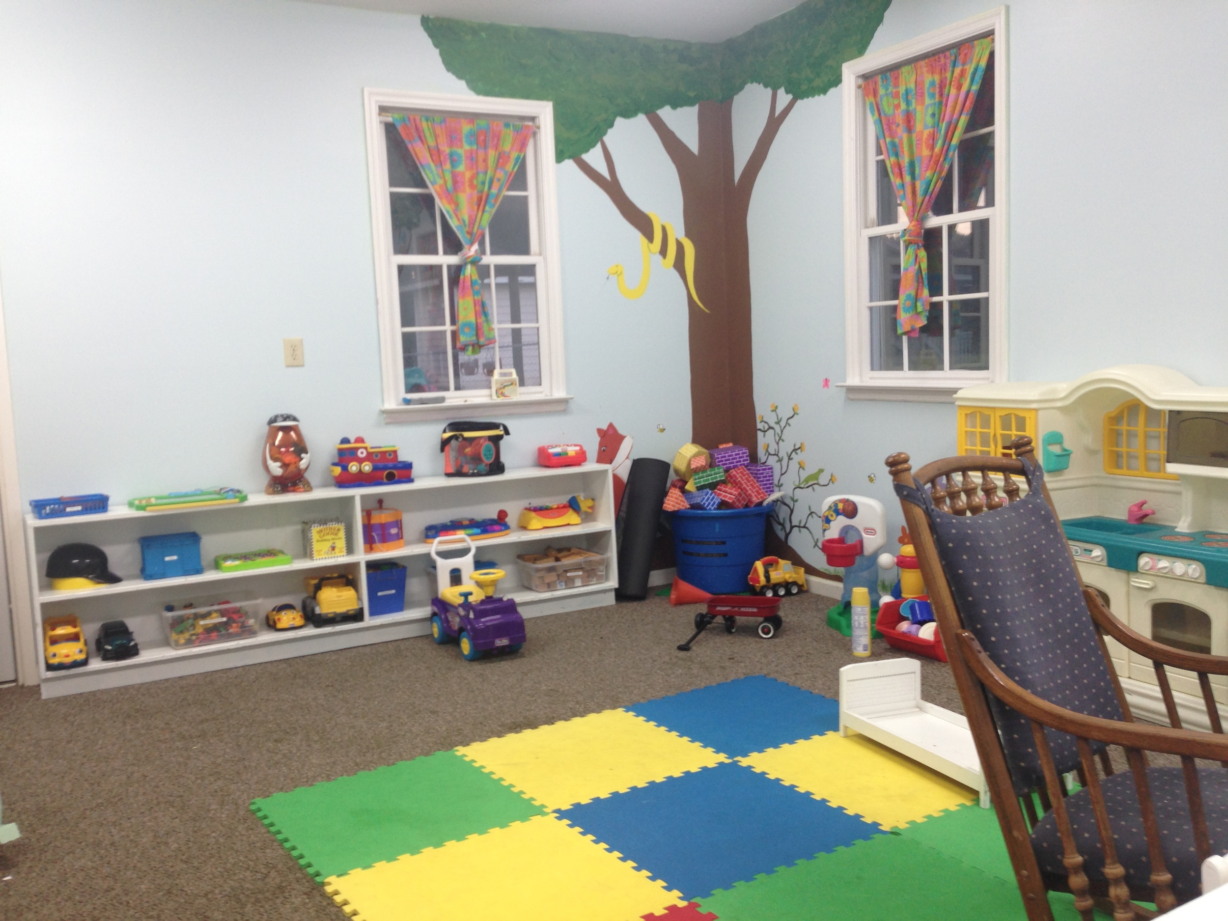 Inside the GreenZone (that's for toddlers)