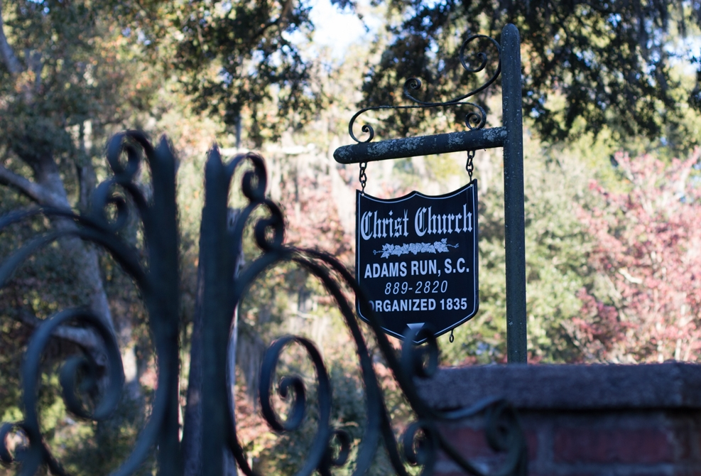 Hop in the car for a quick tour of Christ Church, Adams Run