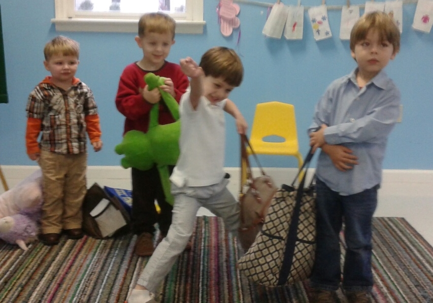 Preschoolers ran their own race!