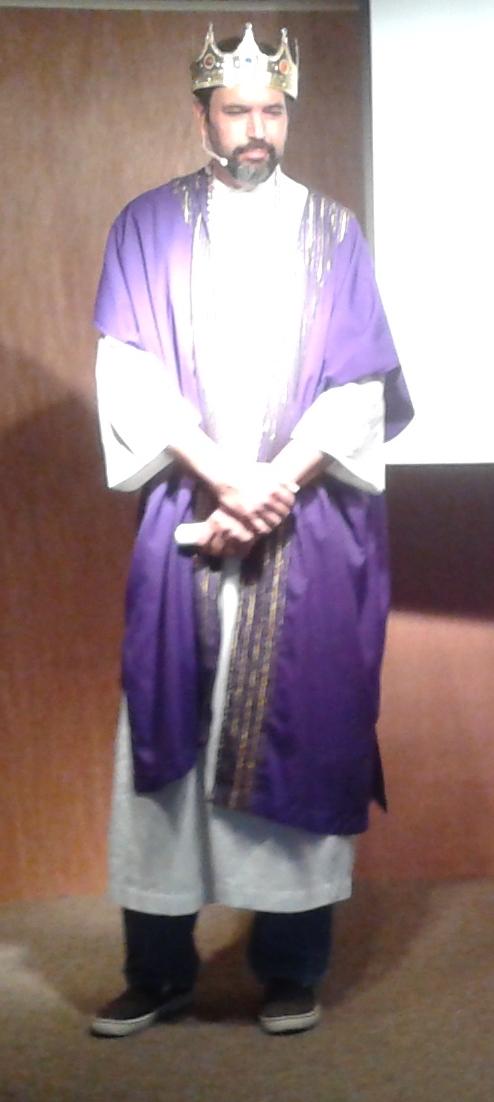 Solomon prayed for wisdom.