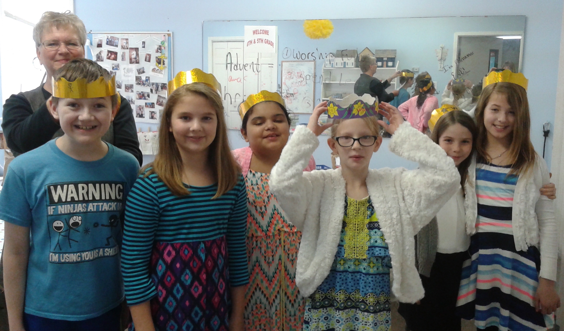 4th & 5th graders learn that Solomon asked God for wisdom.