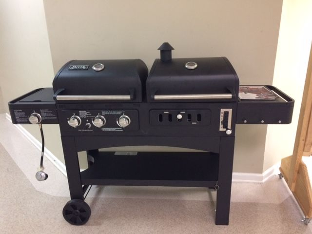 Last year's grills with its new owner, Robert Fleming