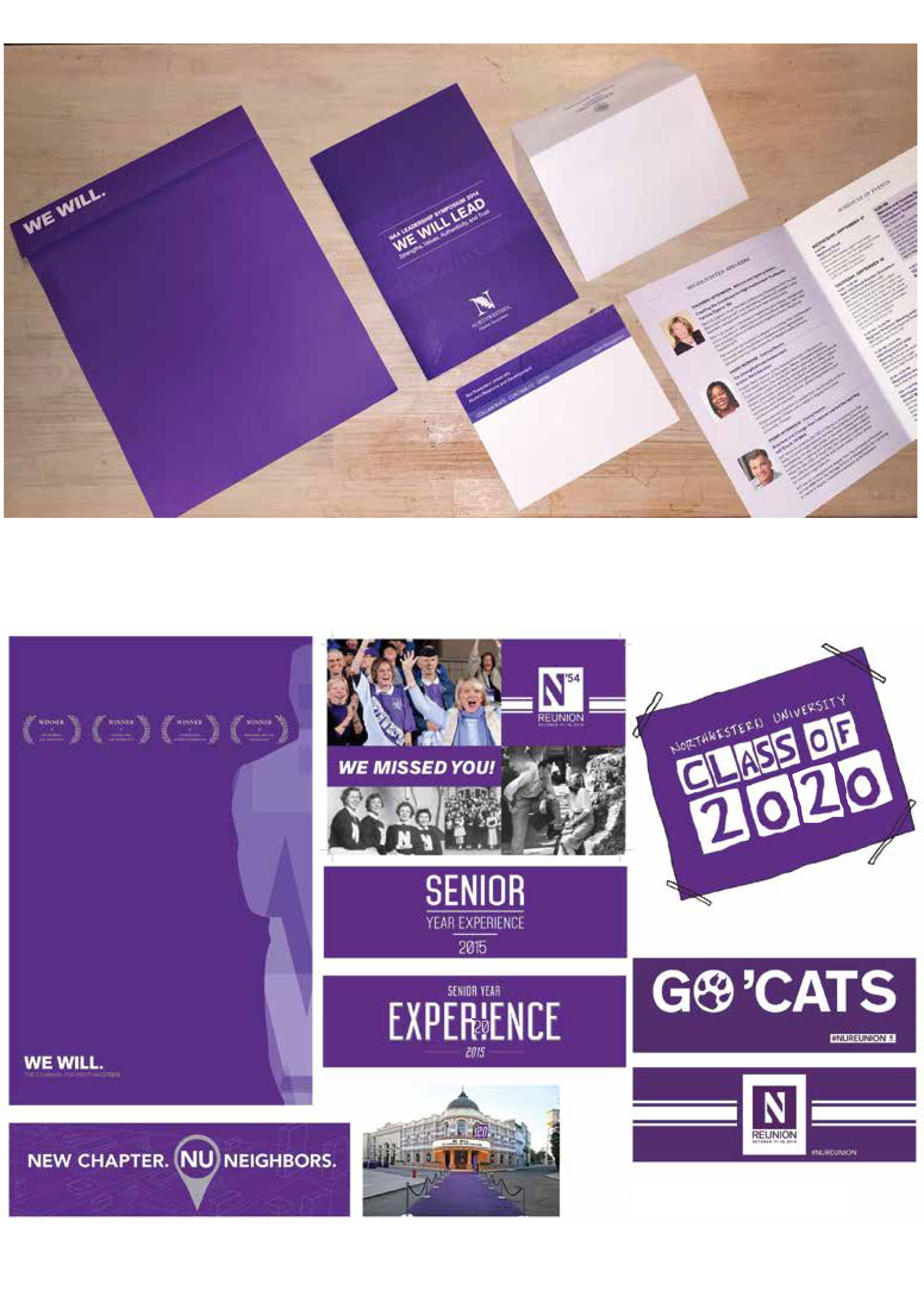 NU's Collateral Design