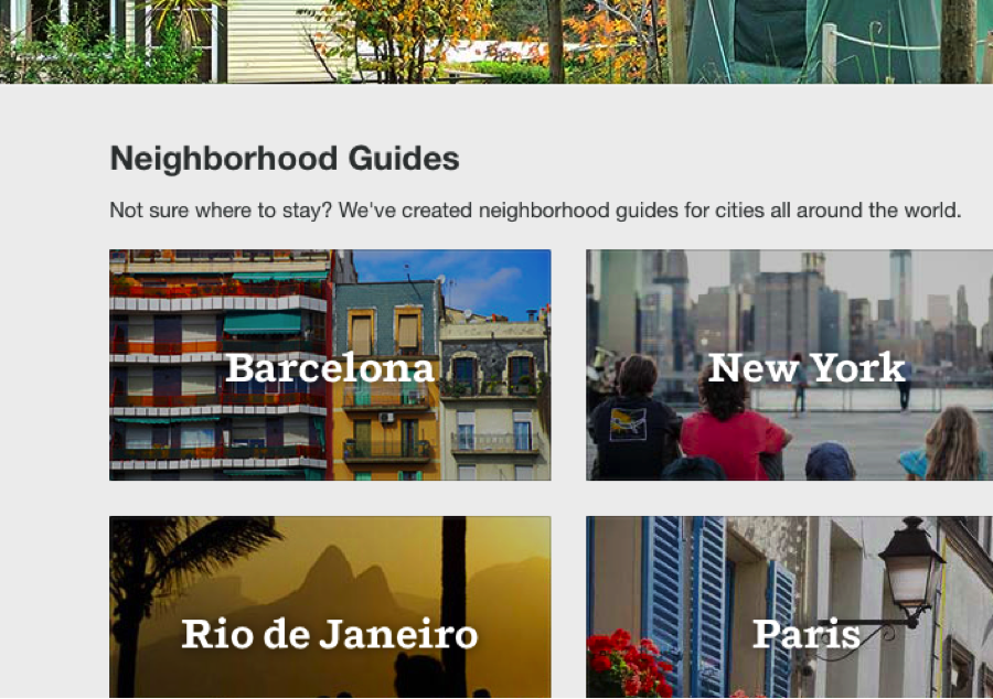 AirBnb is one of the many innovative brands that have conquered the world of content marketing. Instead of advertising their product, they provide prospective customers with travel guides about destinations they may feel enticed to visit: and thus book an apartment through them when choosing to visit the destination. Not only does this challenge the team at AirBnb to develop more knowledge on the various city's they operate in, but it also is a non-intrusive and helpful way to attract customers to their website.