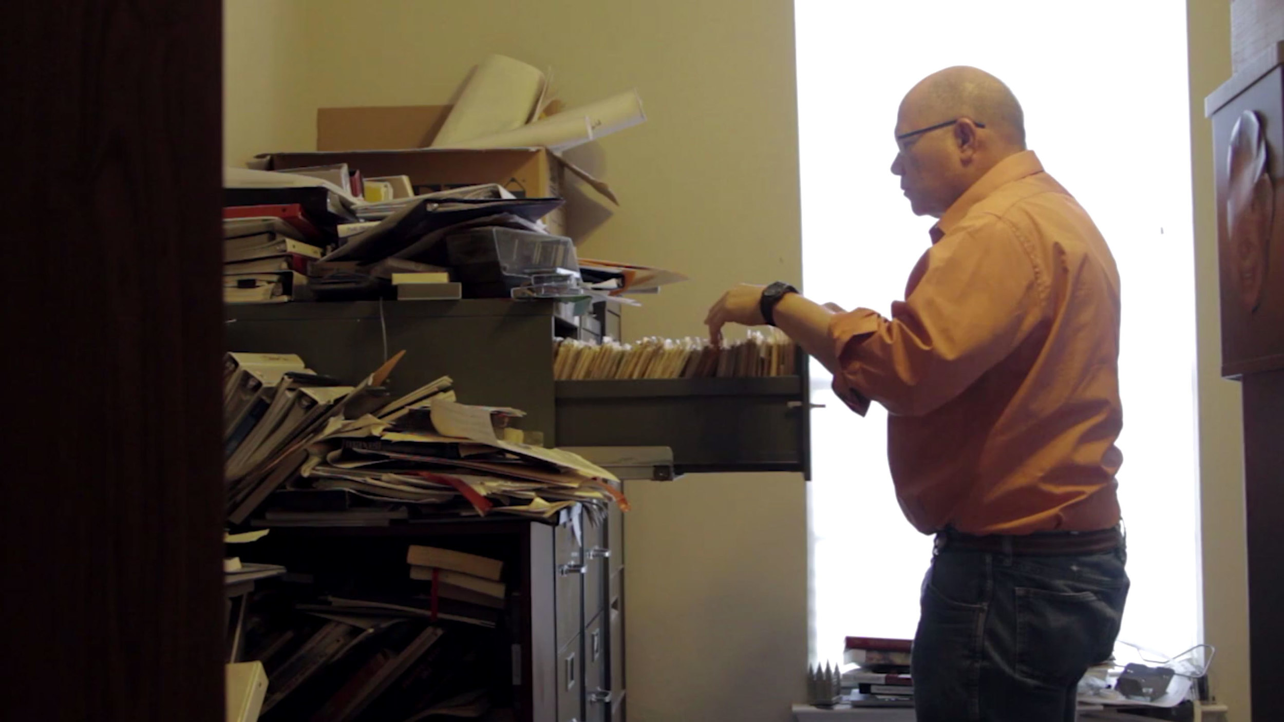Paul pulls a file on one of his most memorable sessions, the USS Stark incident.
