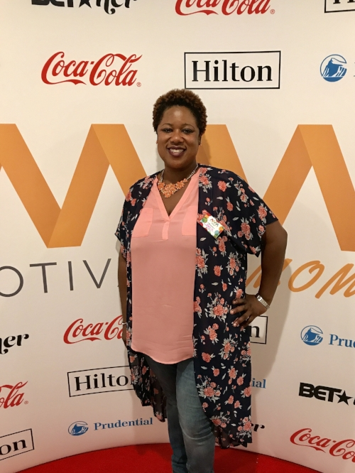 Co-founder, Dania Peguero at the MotivatedMom Luncheon in Atlanta, Ga.