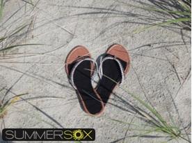 SummerSox no-show socks for flip-flops