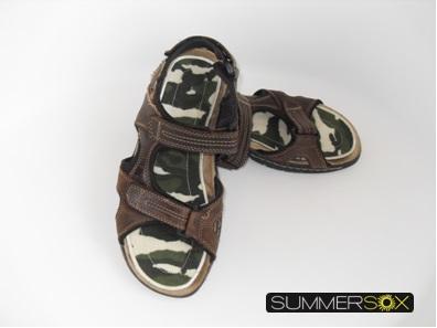 SummerSox no-show flat socks for mens sandals