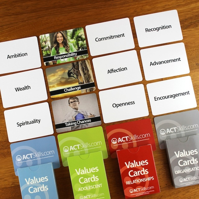 ACT Values Cards
