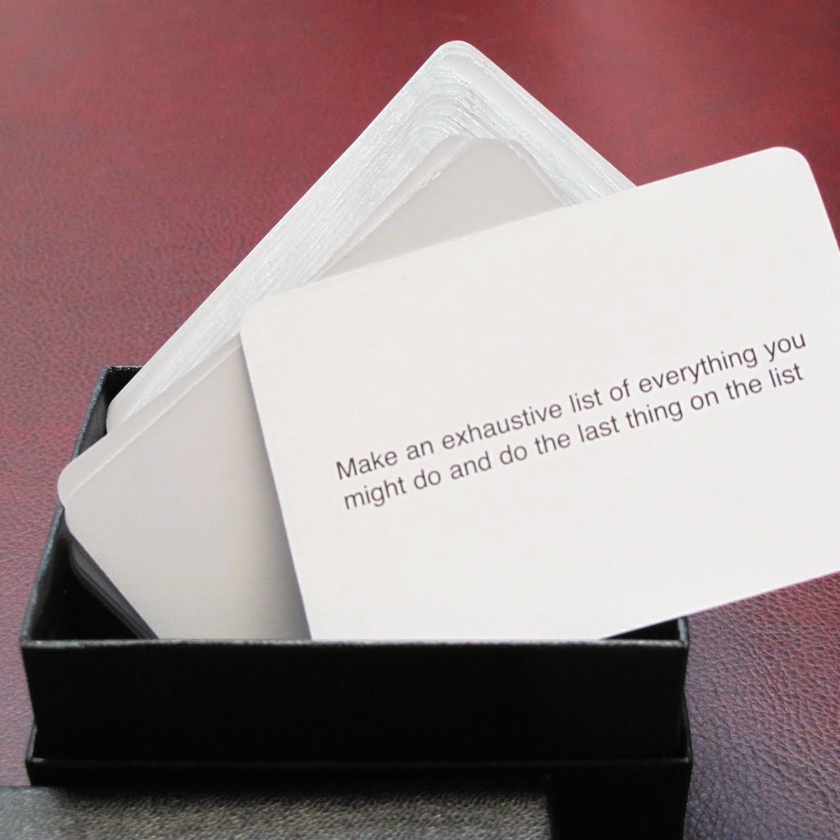 Oblique Strategies