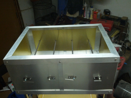 The oven box, but without the wiring