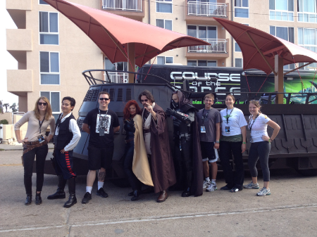 These are the runners in my group for the Course of the Force
