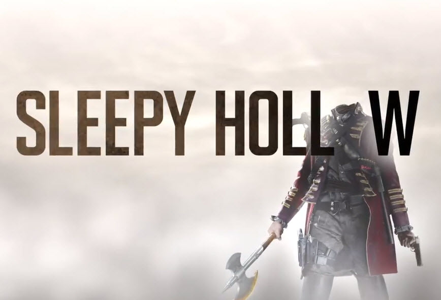 Early promo ad for the Sleepy Hollow TV show