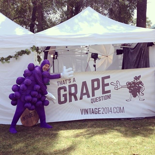 My job was to let folks know about the Vintage 2014 multimedia documentary on local wine production.