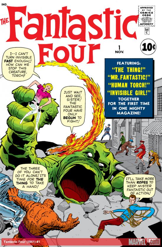 Introducing the Fantastic Four