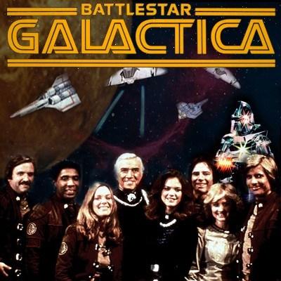 Cast of the 1978 series Battlestar Galactica