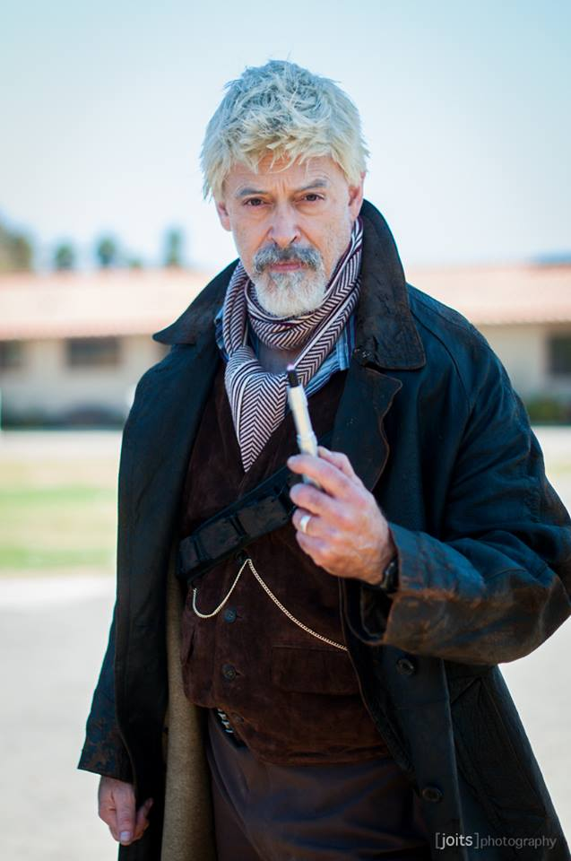 The completed War Doctor, photographed by  Jon Racasa