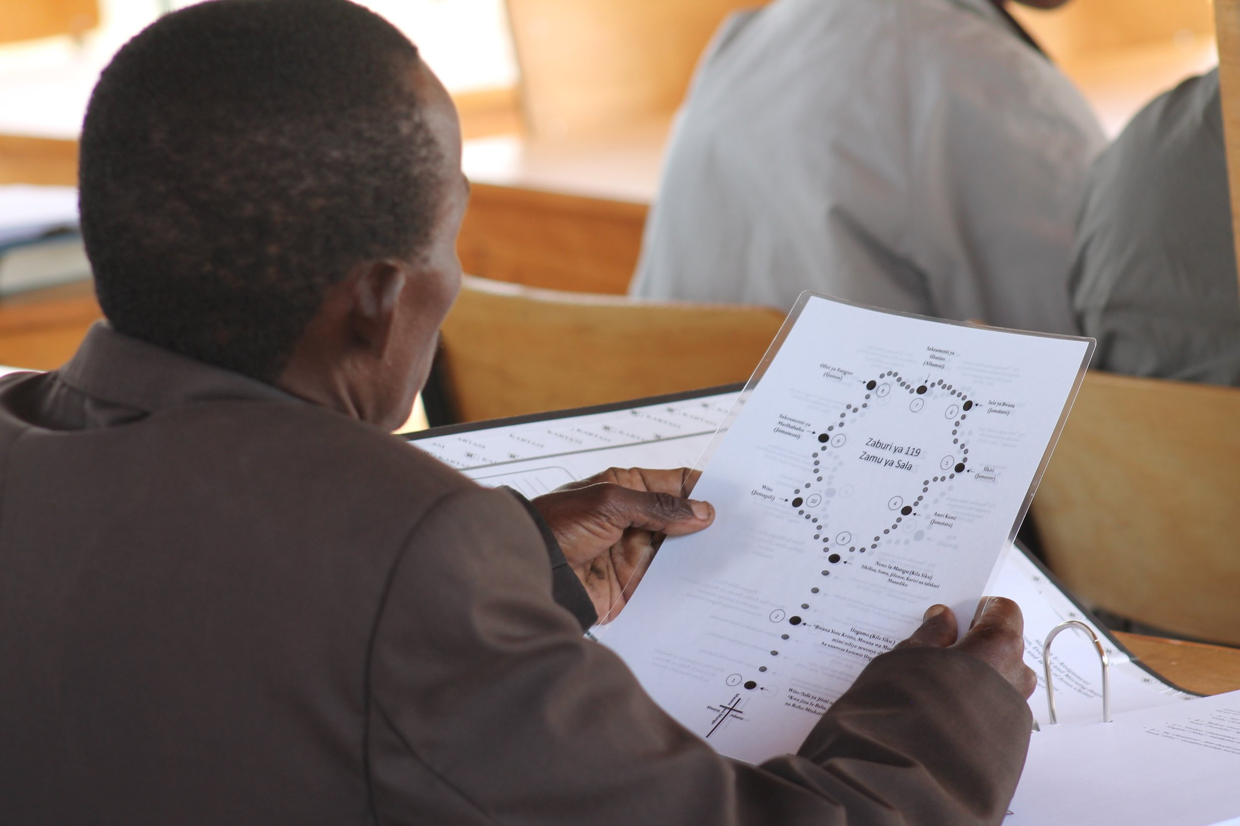 The Psalm 119 Prayer Cycle in Swahili