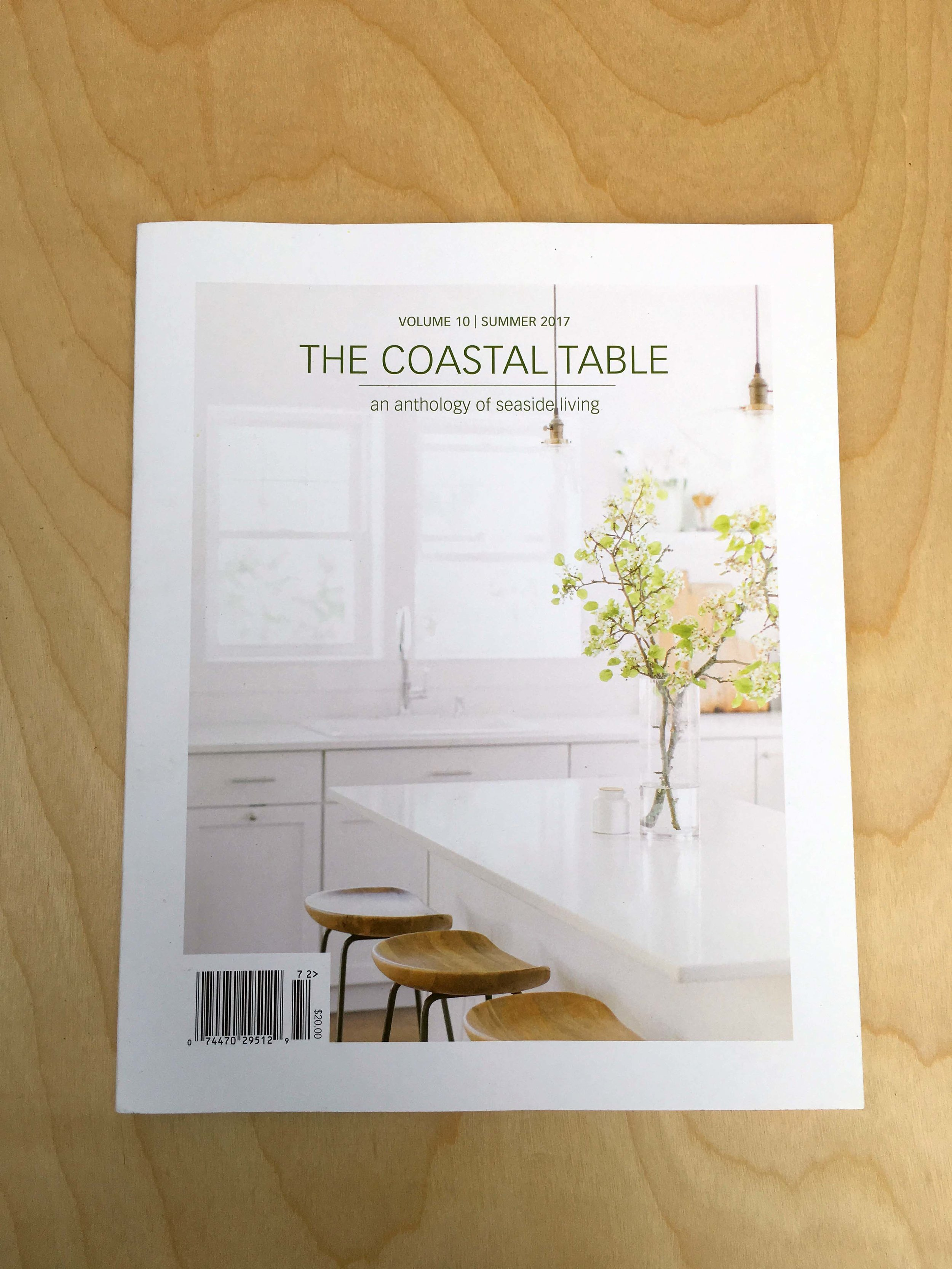 THE COASTAL TABLE SUMMER 2017