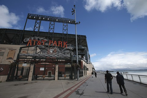 Mario Alioto, the Giants' senior vice president of business operations, announced new additions Wednesday for AT&T Park.