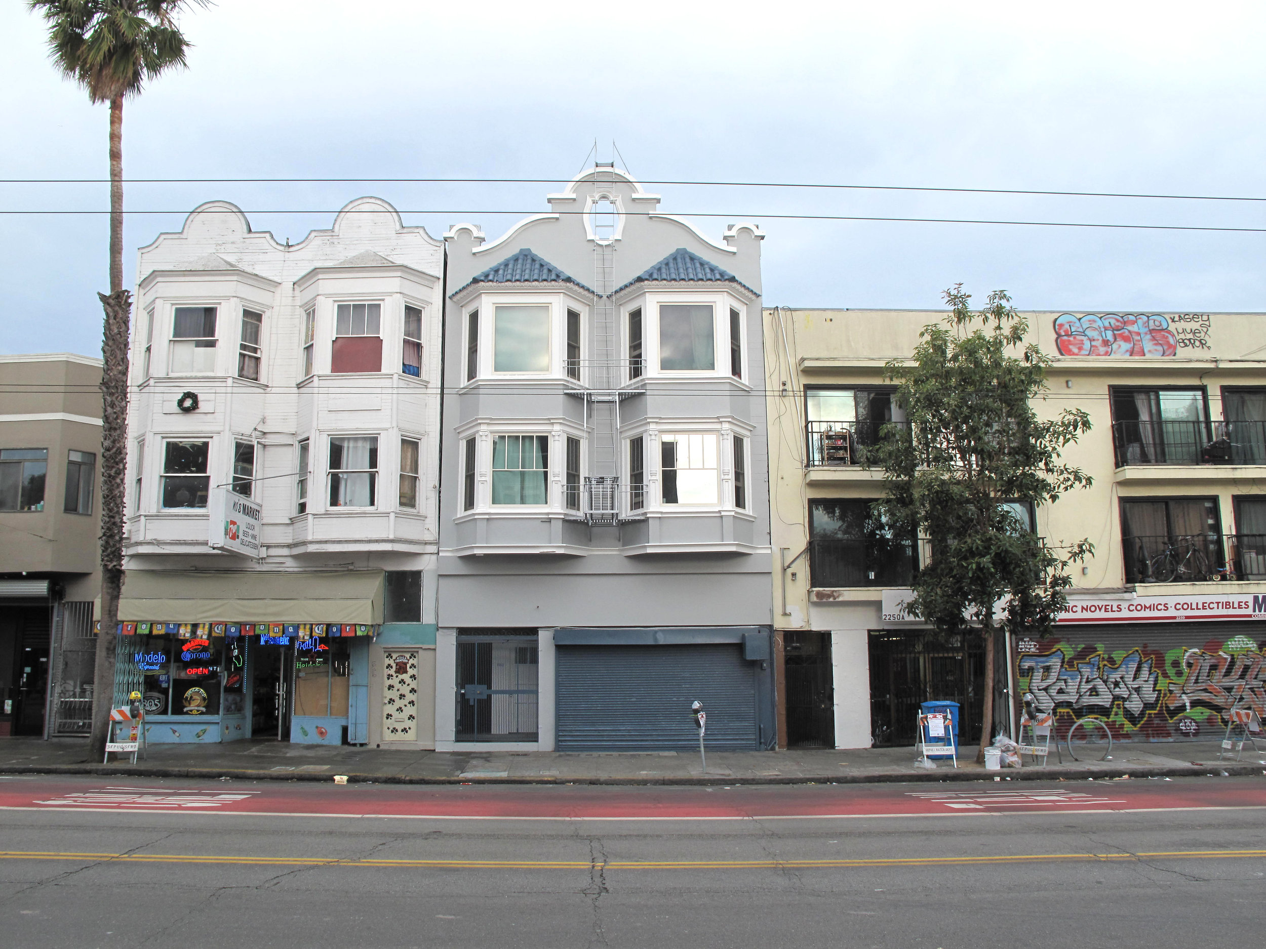 2260-2262 Mission Street - For Sale: $2,498,8887-Unit MIXED USE BUILDING | INNER MISSIONBuilding Square Feet: 5,118 (per tax records)