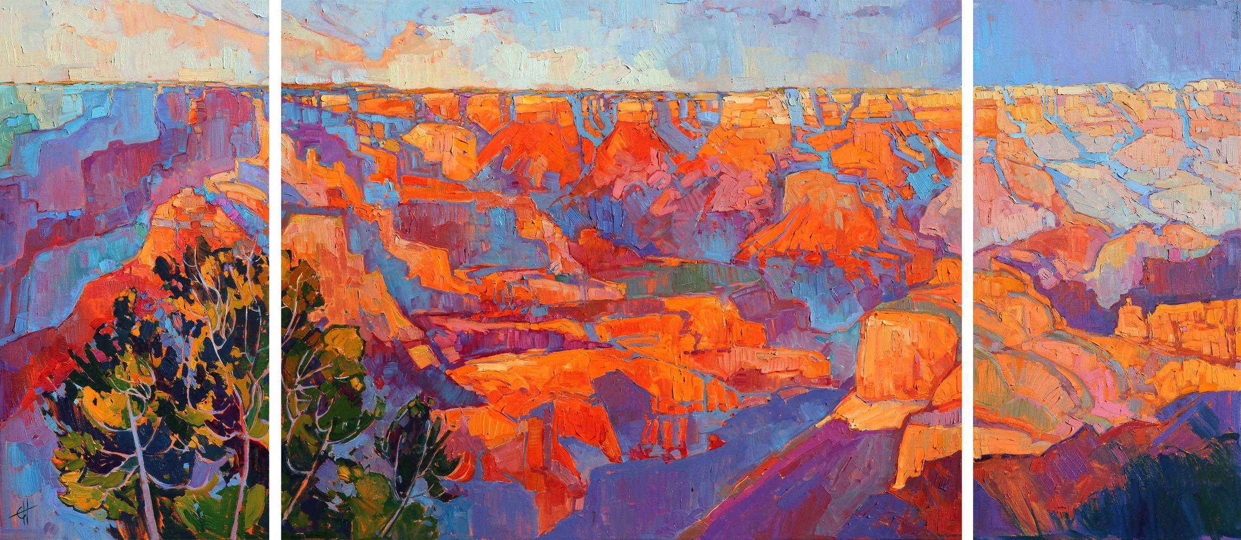 Grand Sunset 90 x 40