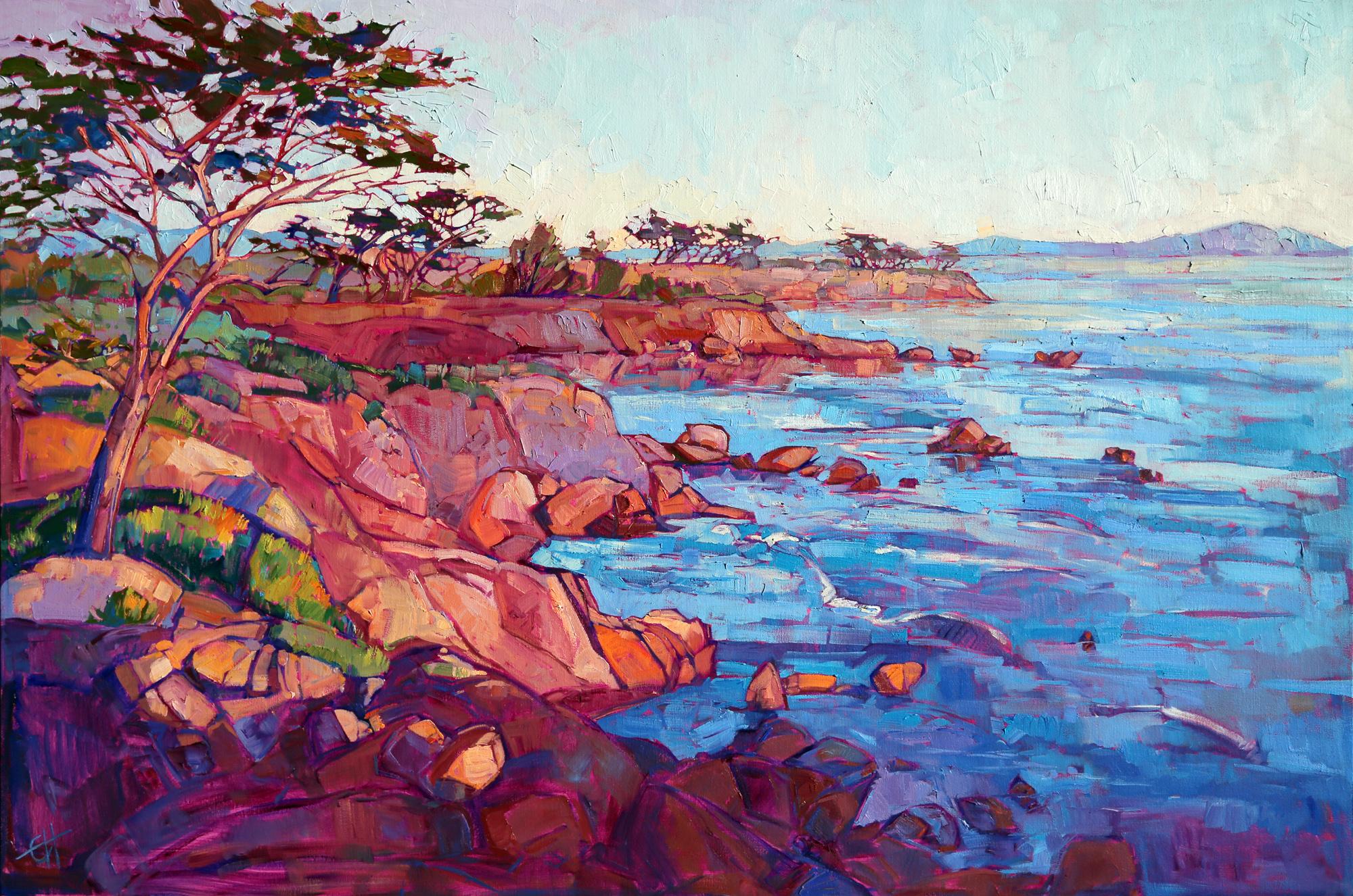 Layers of Monterey 54 x 36