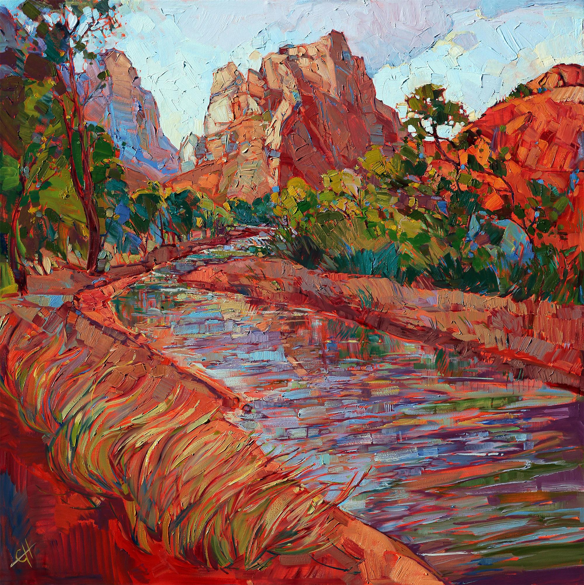 Utah in Color 36 x 36