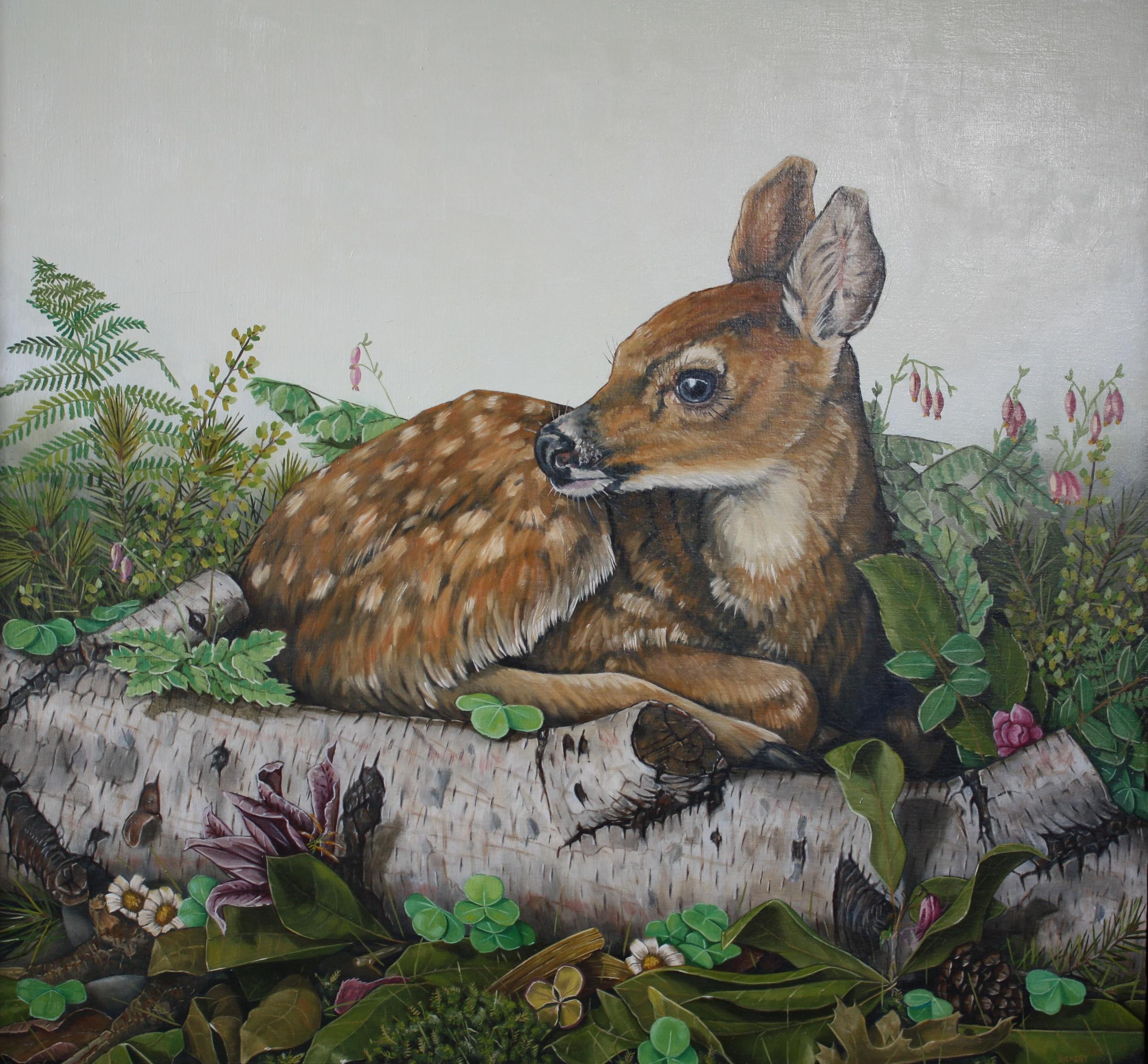 Terra Verde . Oil on Canvas . 28 x 28 (Sold)