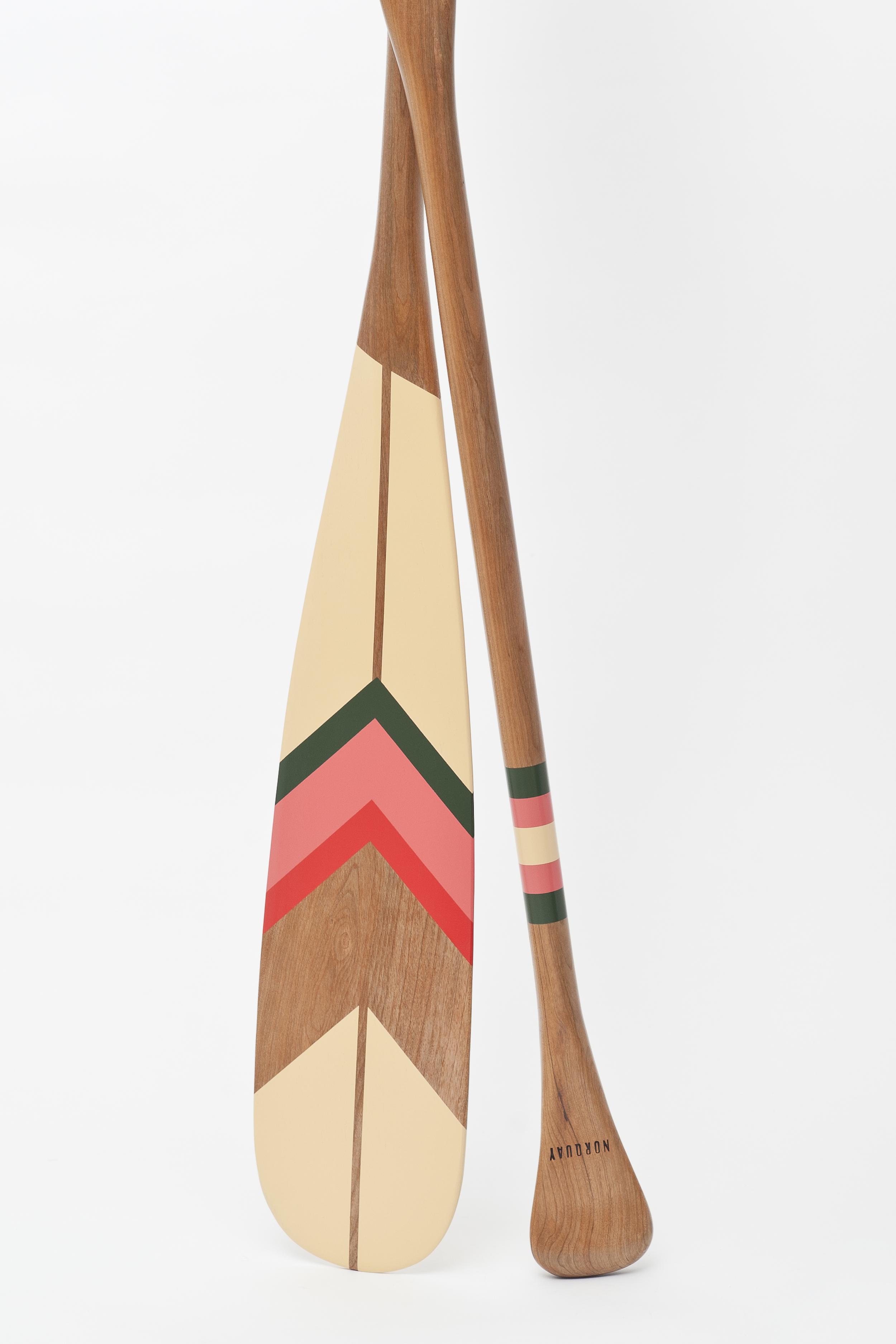 "Rawhide . 57"" Beavertail CanoePaddle . (sold)"