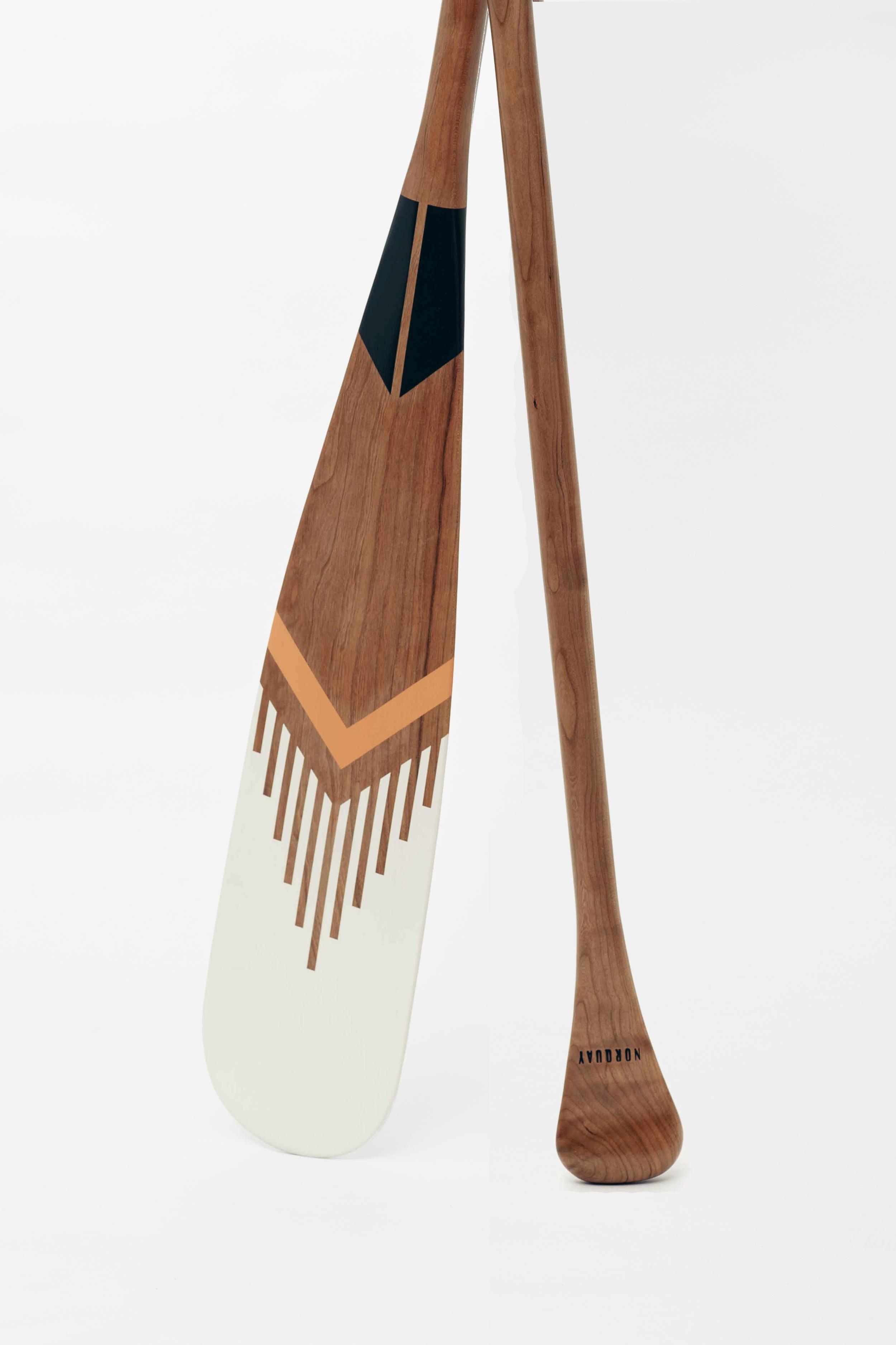"Merit . 57"" Beavertail Canoe Paddle . (sold)"