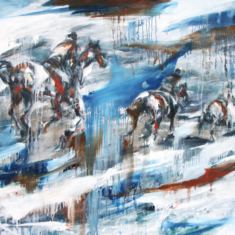 Distance . oil on canvas . 60 x 60