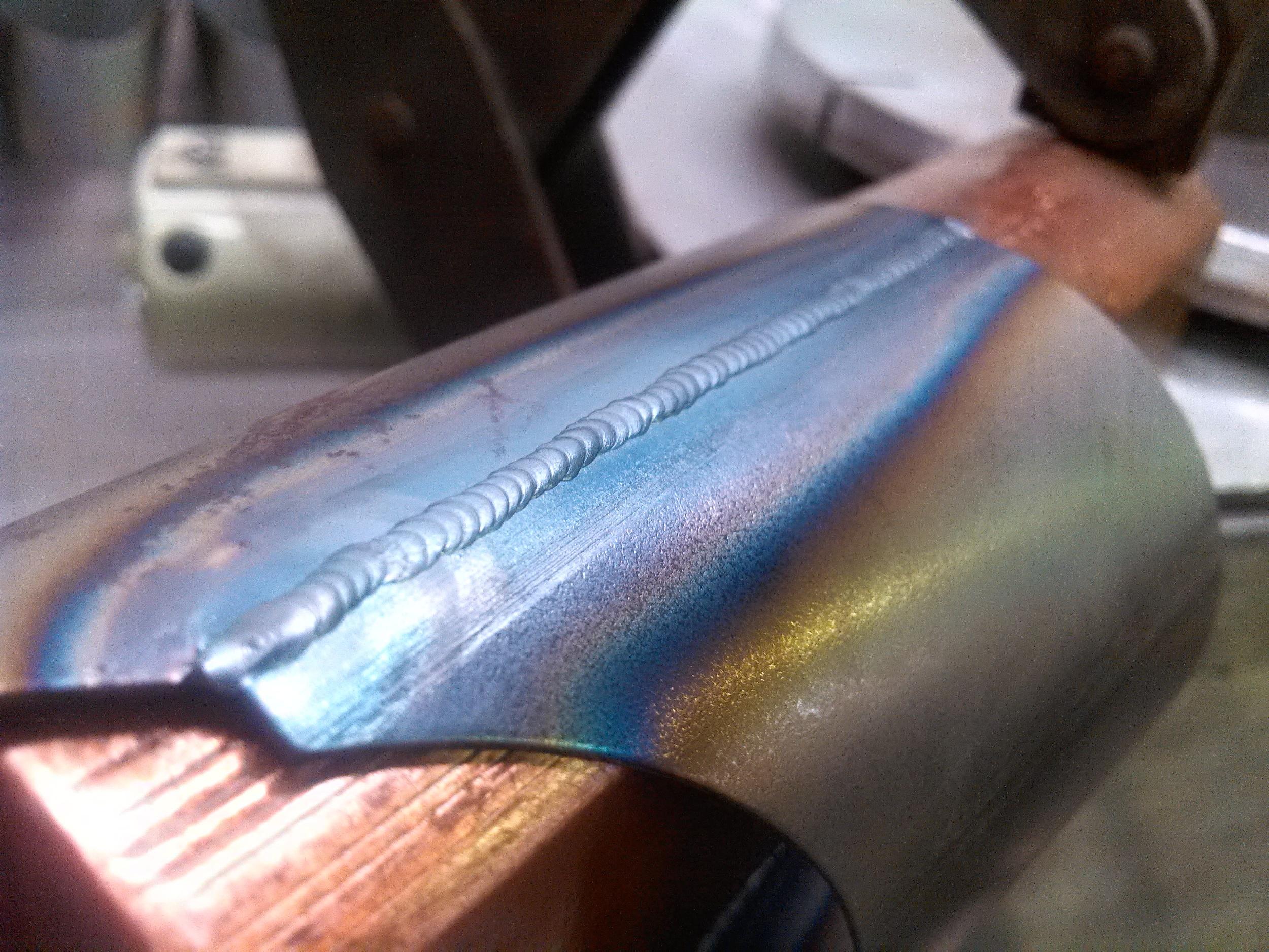 20 gauge steel sheetmetal 100% penetration