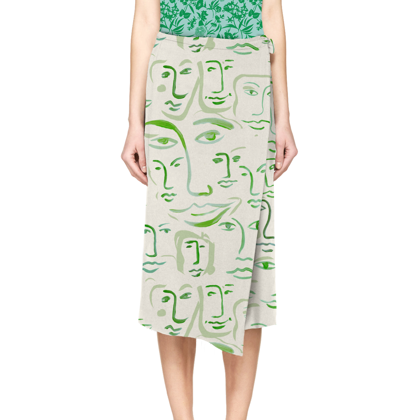 cos-long wrap skirt-greenfaces.jpg