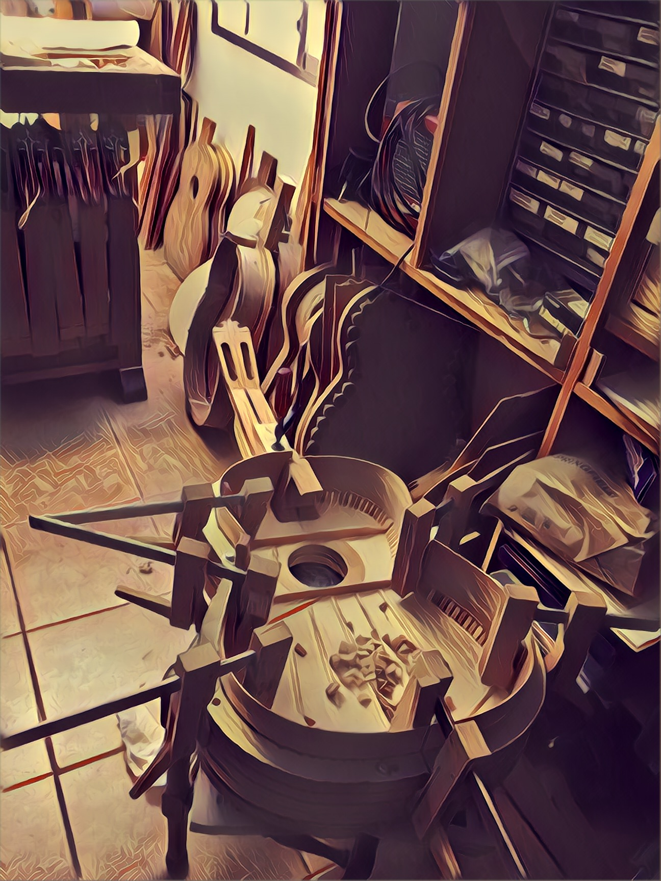 Custom Made Guitars - We also work with over 40 luthiers in Spain, and can have a custom guitar made for you