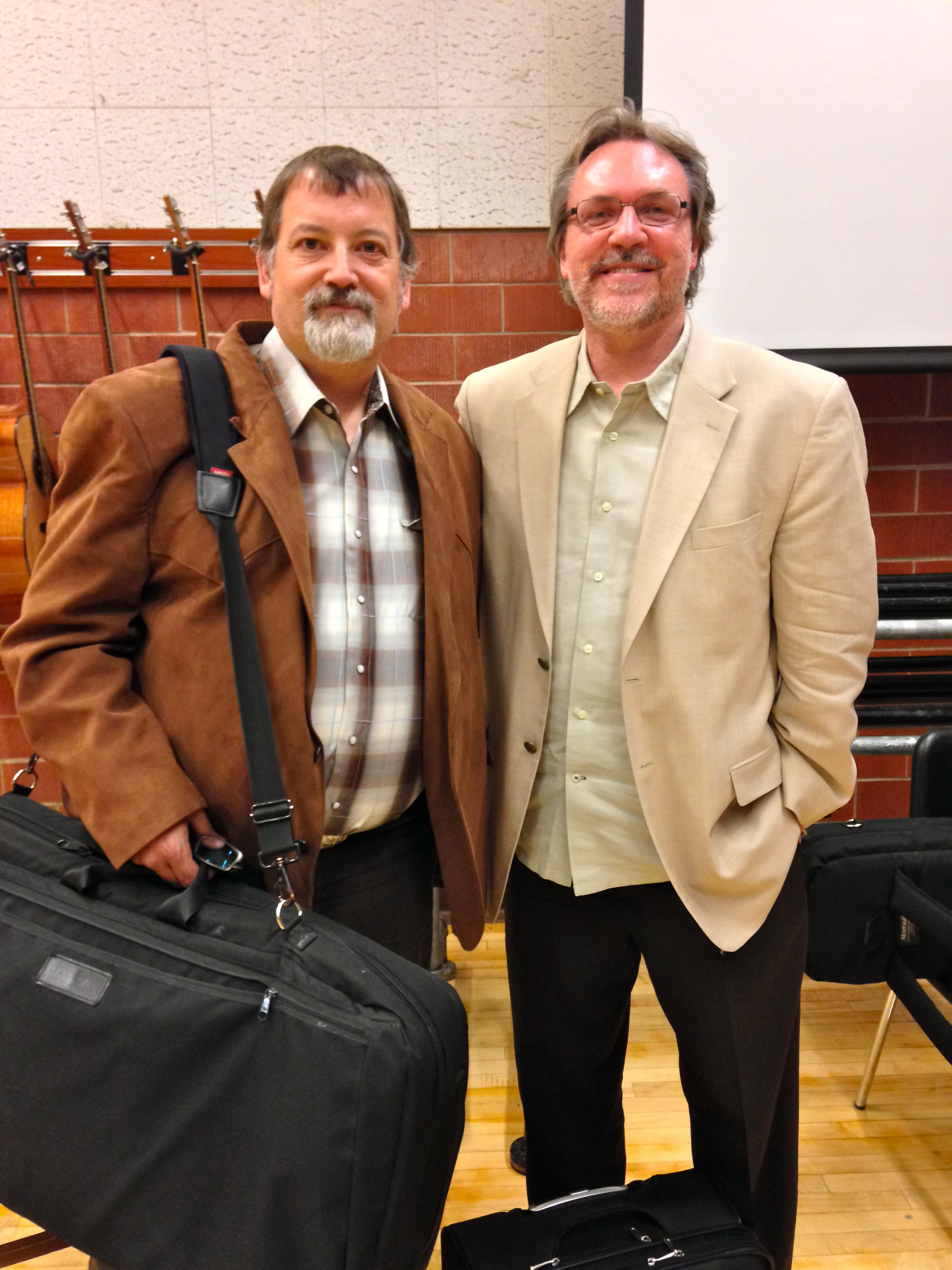 John Peskey and Mark O'Connor