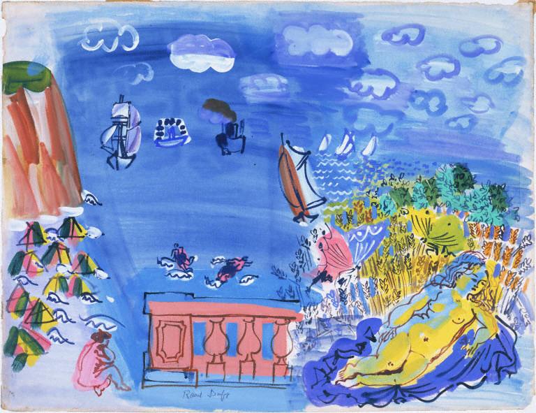 Seaside Motifs, Raoul Dufy, 1928
