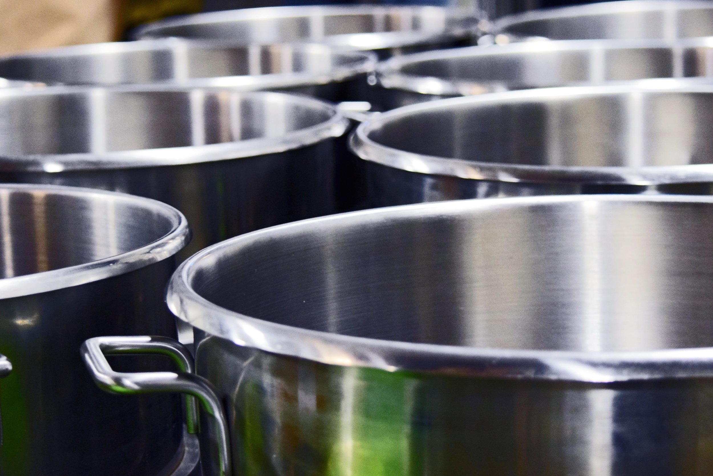 Hobart Mixing Bowls - Taken At A Production Facility in Spokane Valley, WA 08/2016