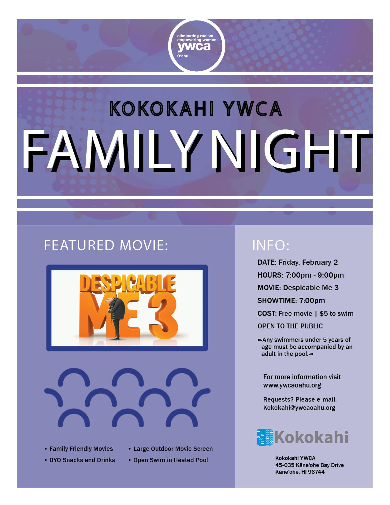 Kokokahi Family Night flyer 2018 Feb.png