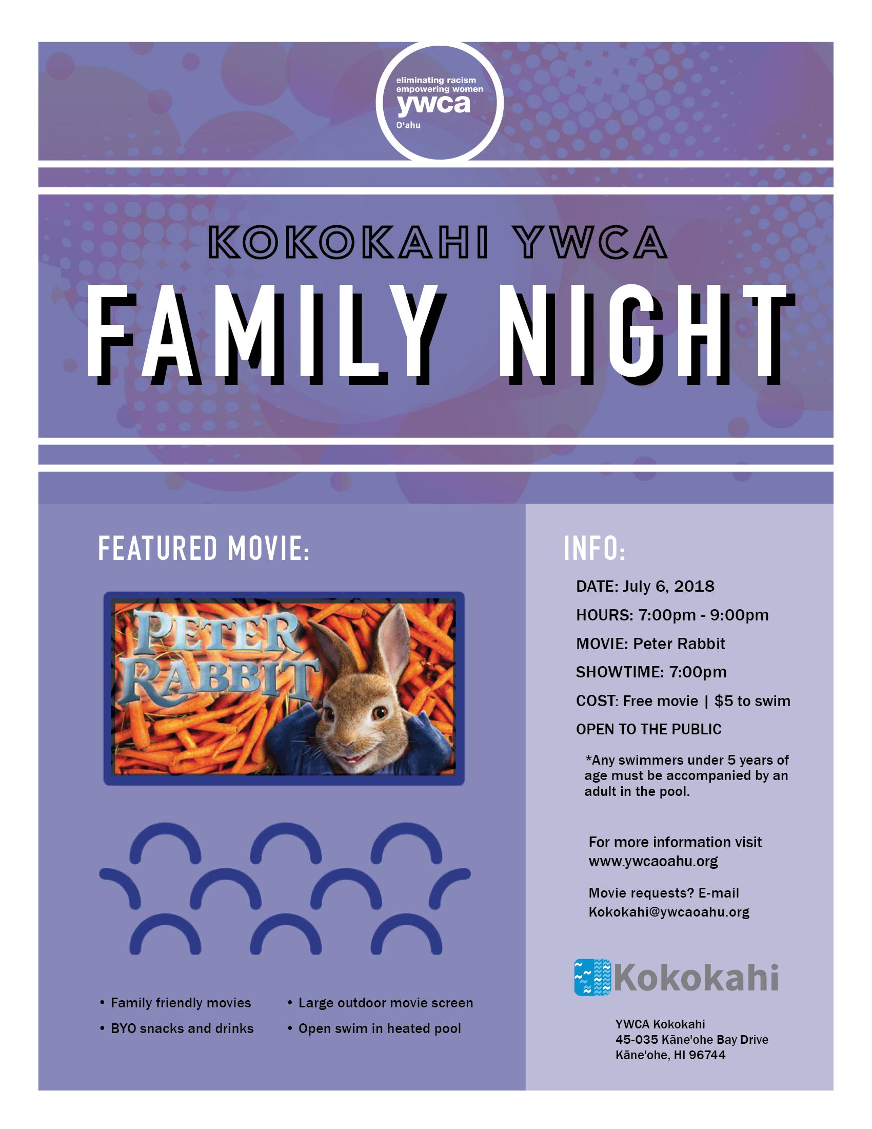 Kokokahi Family Night flyer July 20183.png
