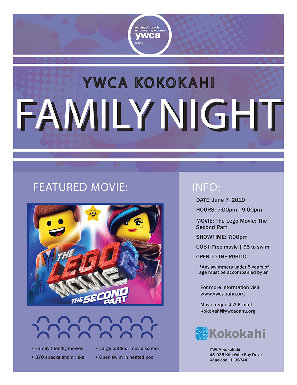 Kokokahi Family Night flyer June 07 2019.png